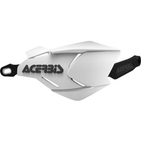 ACERBIS HANDGUARDS X-FACTORY WHITE BLACK