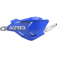 ACERBIS HANDGUARDS X-FACTORY BLUE WHITE