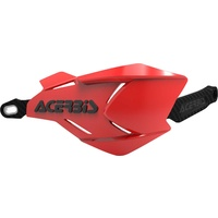 ACERBIS HANDGUARDS X-FACTORY RED BLACK