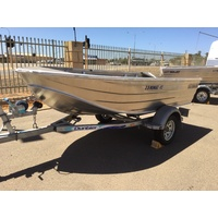 SeaJay 3.5 Nomad HS Dinghy & Trailer