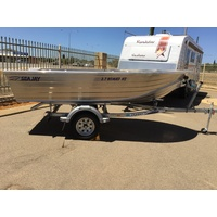 SeaJay 3.7 Nomad HS Dinghy & Trailer