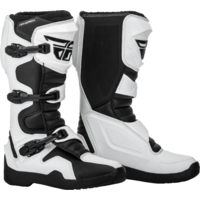 FLY MAVERIK BOOT WHITE/BLACK ADULT