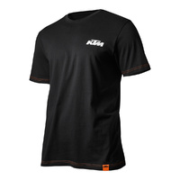 KTM Racing Tee Shirt Black