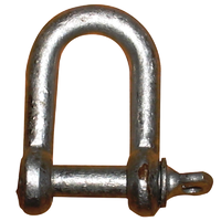 Dee Shackle Galvanised 10mm (3/8) #450-05010