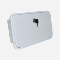 WaterMarked External Shower Box White