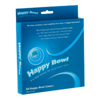 Happy Bowl Toilet Liners - 50 Pack Caravan | Camper | RV Toilet