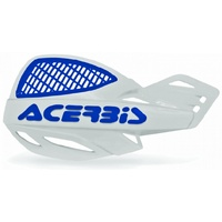 ACERBIS HANDGUARDS UNIKO VENTED WHITE BLUE