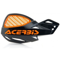 ACERBIS HANDGUARDS UNIKO VENTED BLACK ORANGE