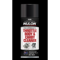 Nulon Pro-Strength Throttle Body & Carby Cleaner 400G CARB400