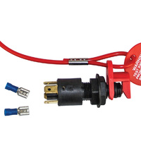Emergency Safety Kill Switch With Lanyard