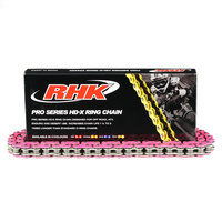 RHK 520 120L PINK HD-X RING HEAVY DUTY CHAIN